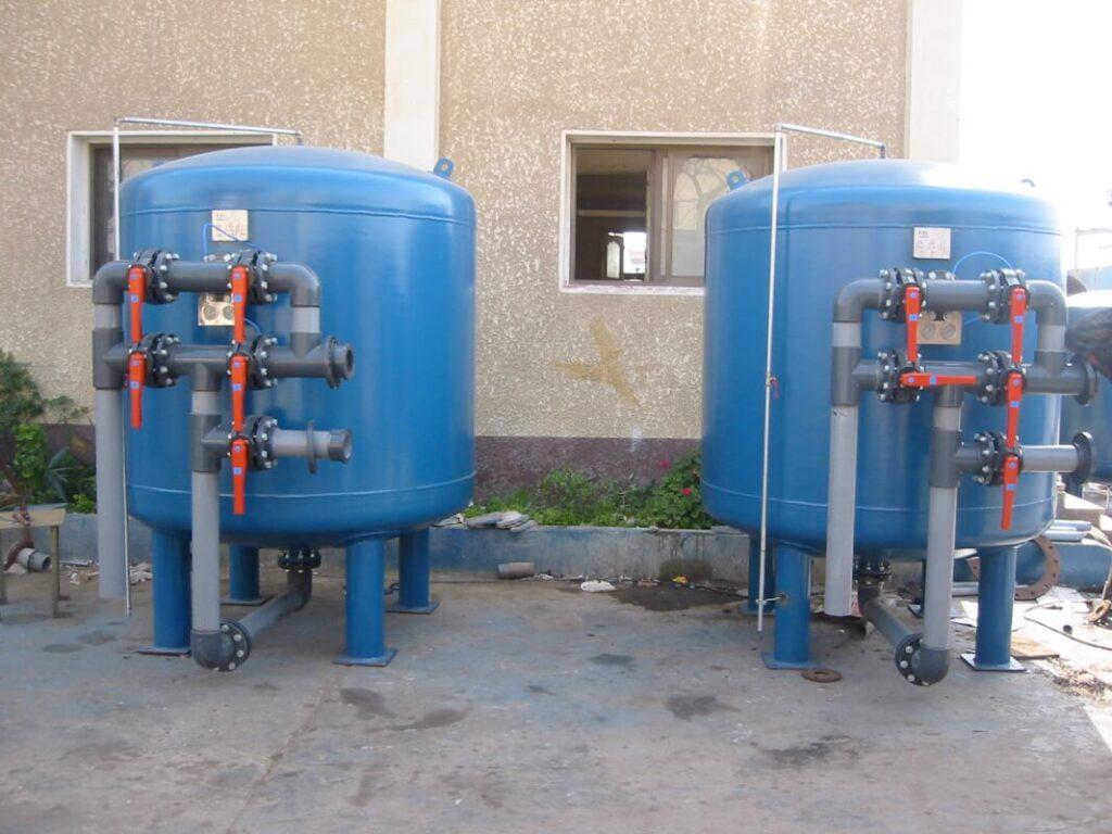 سیستم تصفیه آب صنعتی