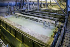 تصفیه فاضلاب صنعت آبکاری