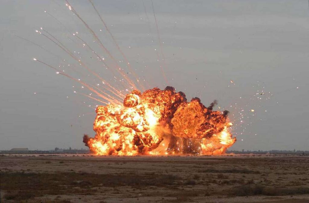 امکان انفجار گاز کلر